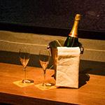 スパークリングワイン無料サービス